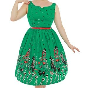 Lindy Bop Delta Witch Doctor Dress